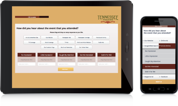 Survature's AnswerCloud - Tennessee Theatre Case Study
